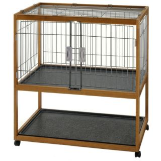 Richell Mobile Critter Condo with Trays   Small Pet   Boutique
