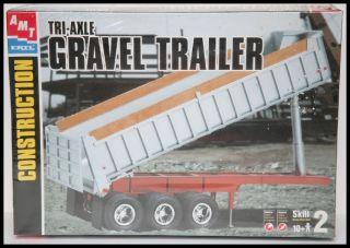 AMT Ertl 125 Tri Axle Gravel Trailer   Muldenkipper