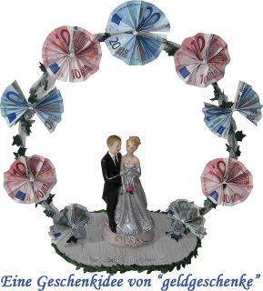 Geldgeschenk SILBER HOCHZEIT 25 Jahre Hochzeitsbogen