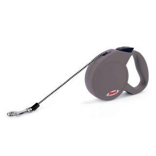 Flexi Freedom Soft Grip Retractable Dog Leash   Grey