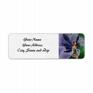 Violet Fae Address Labels