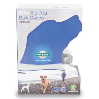 PetSafe �Deluxe Big Dog Bark Control   Training & Behavior   Dog