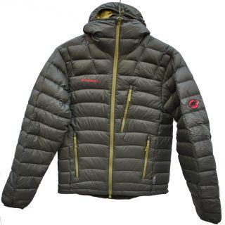 Mammut Broad Peak Hoody Jacket Bison Herren Daunenjacke Winterjacke