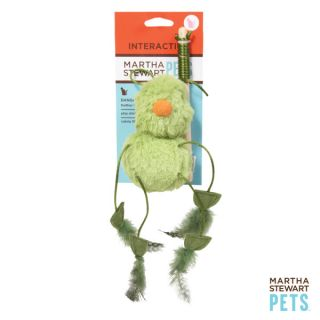 Martha Stewart Green Bird Dangler Cat Toy   Plush Toys   Toys