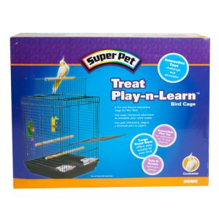 Super Pet� Treat Play N Learn Cockatiel Cage   Cages & Stands   Bird