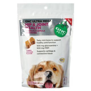 GNC Pets Ultra Mega Hip & Joint Health Mini Bones    Sale   Dog