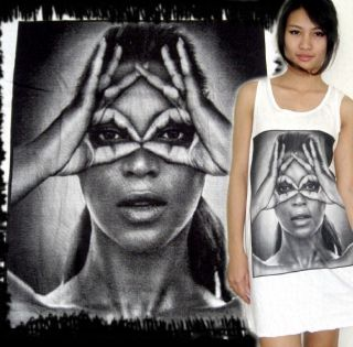 E1SYNDICATE BEYONCE MINI DRESS SHIRT SINGLET TANK TOP T JAY Z RIHANNA