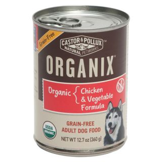 Castor & Pollux™ ORGANIX� Organic Chicken & Vegetable Formula Grain Free Adult Dog Food   Food   Dog