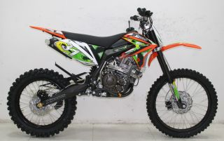 ICS CBF 31F Enduro Cross Dirt Bike 250cc 4 Takt Orange