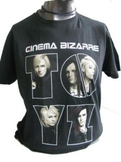 Cinema Bizarre   We?re All Toyz European Tour 2009 T Shirt schwarz