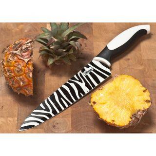 Chef Messer Afrika Chefmesser Zebra Design ca 31 cm Carbon Edelstahl