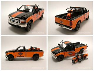 Ford F 350 Super Duty 1999 Pick Up Harley Davidson, Modellauto 1:24
