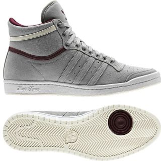 ADIDAS TOP TEN HI SLEEK W GRAU SCHUHE 38 UK 5