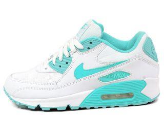 NIKE WMNS AIR MAX 90 [Gr 39 US 8] Weiß Schuhe NEU