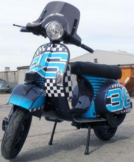 LML Star Sport 36 Dark Blue metalic 200ccm 4 Takt Motorroller