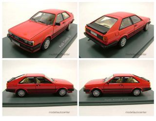Audi Coupe GT 1981 rot, Modellauto 143 / Neo Scale Models