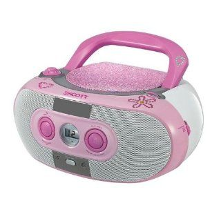 Scott SDM10 PK CD /MP3 Radio Boom Box (USB 2.0) pink: Audio
