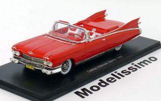 43 Spark Cadillac Eldorado Biarritz 1959 red