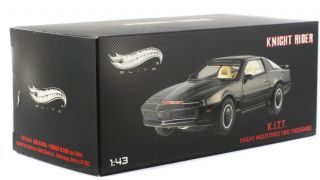 Rider K.I.T.T. KITT 1982 Pontiac Trans Am 143 Elite Hot Wheels X5492