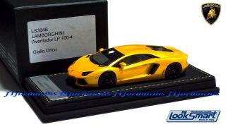 43 LookSmart Lamborghini Aventador LP700 4 Giallo Orion 2011 / MR