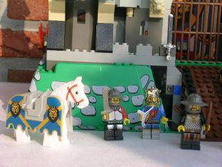 LEGO Burg King Leos Castle 6091 6098