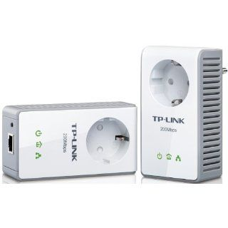 TP Link TL PA250 AV200+ Powerline Adapter Starter Kit