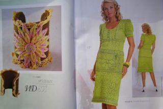 Zeitschrift Mod 548 Russisch Crochet Häkeln Patterns Fashion Magazine