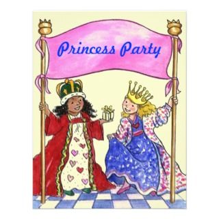 Cute Sweet Invitations To Host A PRINCESS PARTY
