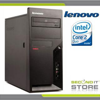 Lenovo ThinkCentre M57 * Intel Core 2 Duo 2 x 2,33 GHz * 2 GB RAM * 80