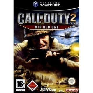 GameCube/Wii   Call of Duty 2   Big Red One USK18