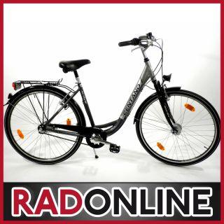 Centano Alu City S 2012 55 cm nerzsilber Damen Cityrad Fahrrad UVP 399