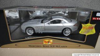 Maisto Mercedes Benz SLR McLaren 1/18 neu