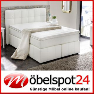Boxspringbett 180x200 cm Polsterbett Liege Bett Schlafzimmer mit