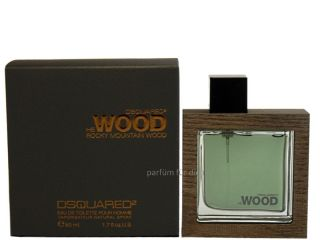 59,80/100ml) Dsquared² Rocky Mountain Wood EdT 50 ml NEU & OVP