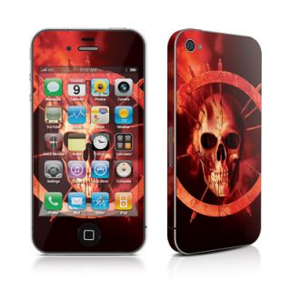 iPhone 4 4S Skin Handy Cover Design Schutzfolie Bumper Sticker Blood