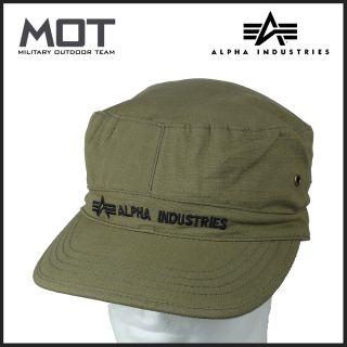 Alpha Industries ARMY HAT BDU Cap Feldmuetze Alpha Muetze oliv 153908