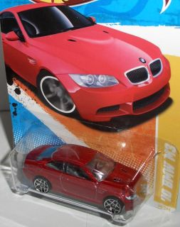 2012 Premiere ´10 BMW M3  red  164 Hot Wheels
