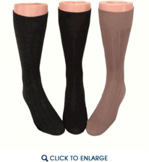 Vannucci Couture Imperial Nylon Mens Dress Socks