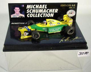Minichamps 1/64 Benetton Ford B 192 M Schumacher #3070