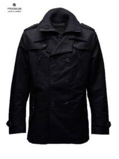 JACK & JONES Herren Mantel Max Jacket JKT Jacke schwarz