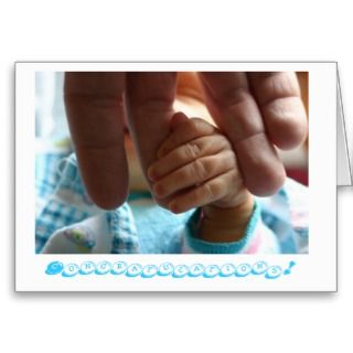 Cards and Congratulations Newborn Baby Boy Greeting Card Templates