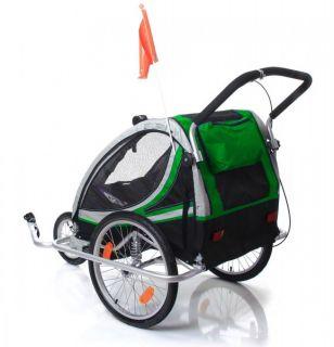 Fahrradanhänger Kinderanhänger Jogger ALUMINIUM Qeridoo