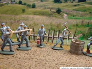 Revell, Südstaaten Pioniere Civil War 172 bemalt