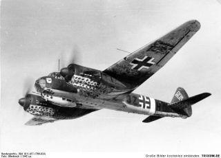7269 Dt. Nacht Jäger Junkers JU 88 G 6   Plastikkit 1:72