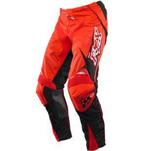 Fox MX 360 Pant 2010   Bright Red   34 Inch (Waist)