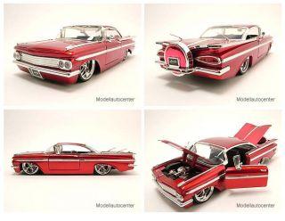 Chevrolet Impala 1959 rot, Modellauto 124 / Jada Toys