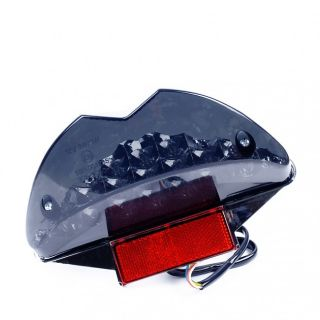 LED RÜCKLICHT + BLINKER SCHWARZ   YAMAHA AEROX / MBK NITRO 50 + 100