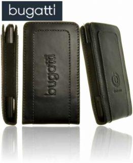 Bugatti TWIN Leder Tasche Handyetui Handytasche Schutz Hülle für