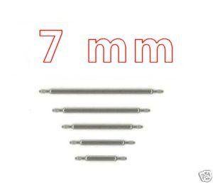 7mm Federsteg Edelstahl Uhren Federstege Uhrenstege Uhr Watch