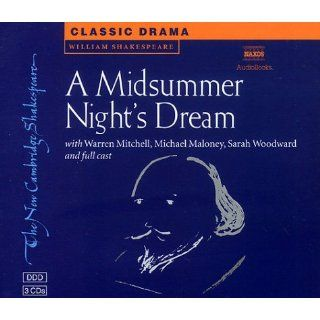 Midsummer Nights Dream 3 Audio CD Set Performed by Warren Mitchell